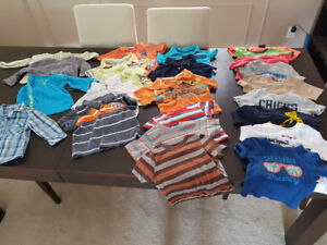 Large lot of Boys Clothes 9mo - 24mos - $60 for all!
