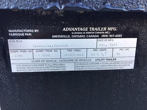 1 year old Tandem Axle Utility Trailer  for Sale Windsor Region Ontario image 3