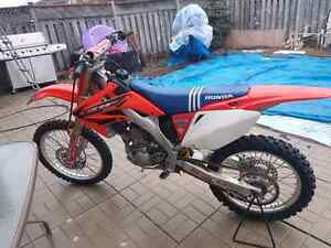 2005 crf 250r (OWNERSHIP)trade for crf 230
