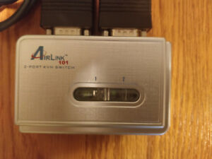 AirLink 101 2-Port KVM Switch VGA-USB-Audio