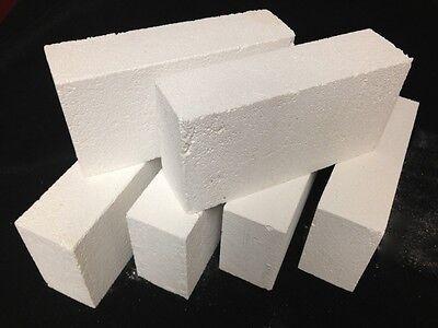 """K-26 Insulating Firebrick 9x4.5x 1.5"""" IFB Fire Brick Thermal Ceramics Bricks K26"""