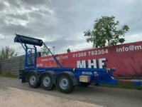 2009 Refurbished Couldwell Tri Axle Trailer Hook Hookloader