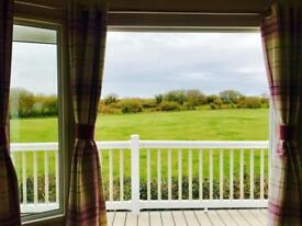 Static caravan for sale, Solent Breezes on the Solent decking incl sea views