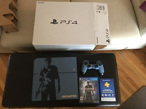 PS4 Uncharted Special Edition Bundle console + controller + game