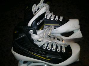 Bauer One.7 goalie skates size 2.5 D