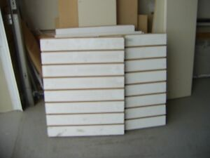 Various sizes white slot boards - Tamarach Area(17 St & 28 Ave)