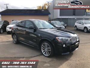 2015 BMW X4 AWD 4dr xDrive35i M SPORT PACKAGE  - One owner