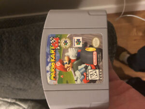 4 N64 Games and 1 Super Nintendo game