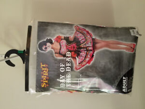 Ladies Size Large Day Of The Dead Costume $60 OBRO