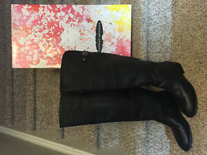 New! Chinese Laundry leather over the knee  boots size 6.5,7,8 Kitchener / Waterloo Kitchener Area image 4