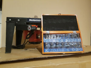 Woodworking equipment for sale.