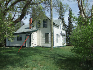 2 storey house and 17.17 acres