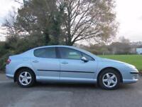 Peugeot 407 1.6HDi 110 2005MY SE 4 door manual metallic blue 68k miles