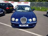 2002 02 JAGUAR S-TYPE 3.0 V6 AUTOMATIC,LOW MILEAGE,FULL SERVICE HISTORY.FULL MOT