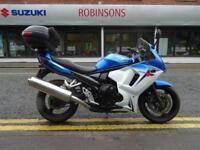 2012 62 REG SUZUKI GSX650FA L2 7777 MILES ONE OWNER MACHINE