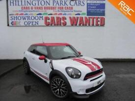 Mini Mini Paceman 1.6 ( 215bhp ) ALL4 ( Chili ) Auto 2013MY John Cooper Works