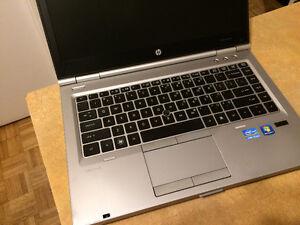 Laptop HP EliteBook 8460p (intel i5 /4 gb / 250 gb)