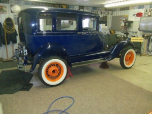 Ford Model A front end