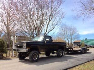 Towing,hauling vehicals of any size,collecting scrap metal too