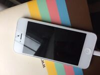 Excellent condition iPhone 5 white 16g