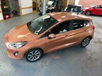 2018 Ford Fiesta Bang and Olufsen Zetec, 5 door, sat nav, 21366 miles Hatchback
