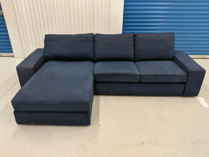 IKEA    Kivik Reversible Sectional Sofa w Chaise. FREE DELIVERY