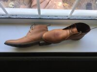 NEXT Tan leather shoes
