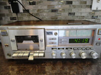Vintage Sears AM/FM/ Stereo Cassette Recorder #10882