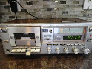 Vintage Sears AM/FM/ Stereo Cassette Recorder #10882