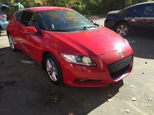 2011 Honda CR-Z Hatchback Safety e-test NEW TIERS AND BRAKES