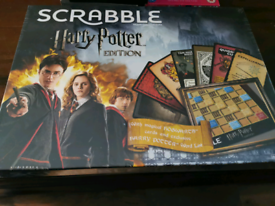 Harry potter scrabble new and sealed