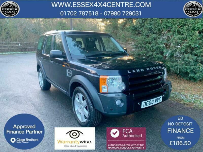 2008 LAND ROVER DISCOVERY 3 HSE 2 7 TDV6 AUTOMATIC 7 SEATER TURBO DIESEL |  in Hockley, Essex | Gumtree