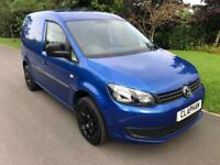 2014 14 VOLKSWAGEN CADDY 1.6TDI C20 BLUE 1 OWNER ANY UK DELIVERY NO VAT