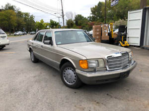 1988 MERCEDES BENZ 420SEL WITH 154 xxx KM