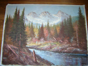Oil paintings - various sizes -prices from $10 - $80 London Ontario image 2