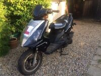DB125T-15D Scooter Direct Bikes 125 scooter, twist and go, moped, 125cc £200 no offers or swaps