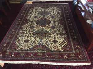 8` x 6` Persian hand knitted rug  -  $450 negotiable