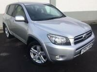 2007 57 TOYOTA RAV4 2.2 D-4D T180 5 DOOR SAT NAV FULL LEATHER 4X4