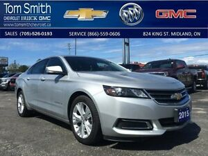 2015 Chevrolet Impala LT   - Certified - BLUETOOTH -  LEATHER