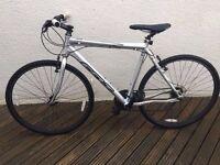 Felt QX65 hybrid Bike - 57cm aluminium Frame shimano 21 speed gears with d lock lights included