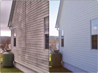 FREE SIDING CLEANING   $0.00  QUOTES FROM HYDRO CLEAN FREDERITON