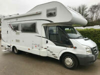 Dethleffs Sunlight A69 7 Berth Ford Transit 2.4 TDCi 6 Speed Only 46K RWD