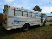 REDUCED - GMC 6000 CONVERTED BUS - CERTIFIED AND CLEAN