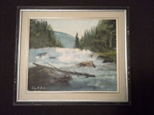 Original painting by Nova Scotia artist Brock Clare