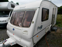 Bailey Pageant Magenta 2002 Lightweight 2 Berth Touring Caravan With MotorMover