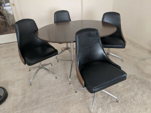 RETRO KITCHEN TABLE/CHAIRS