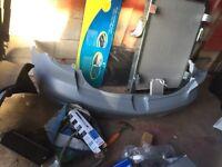 Mazda 3 back bumper in primer ready for spraying £45