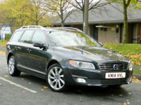 2014 Volvo V70 2.4TD D5 ( 215bhp ) Geartronic 2015MY SE Lux WITH FVSH+MEGA SPEC!