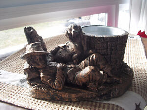 RARE - Coppercraft Guild Kitchener, ON. - 3D  Art Deco Planter