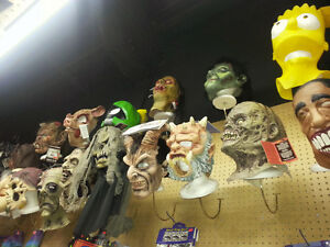 Tons of creepy and funny masks!